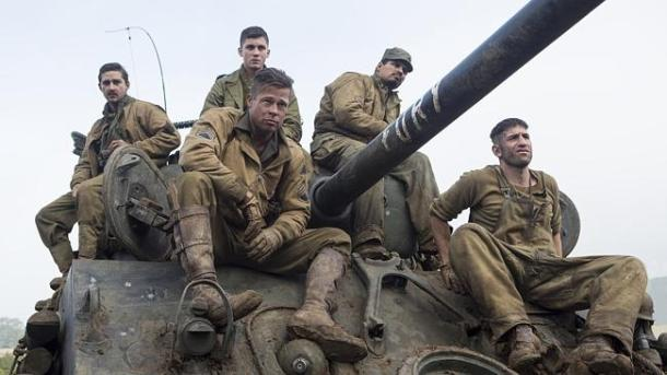 War is hell in 'Fury'.