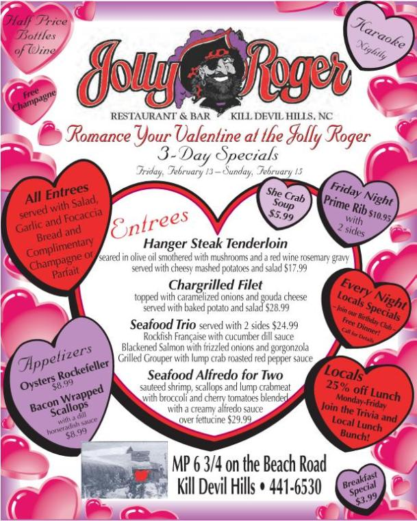Jolly Roger Valentine's Day 2015