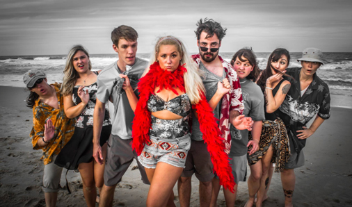 Theater of Dare presents 'Psycho Beach Party' in October 2014.