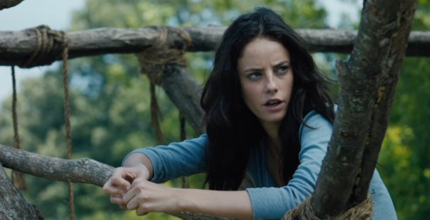 Kaya Scodelario stars in 'The Maze Runner'.