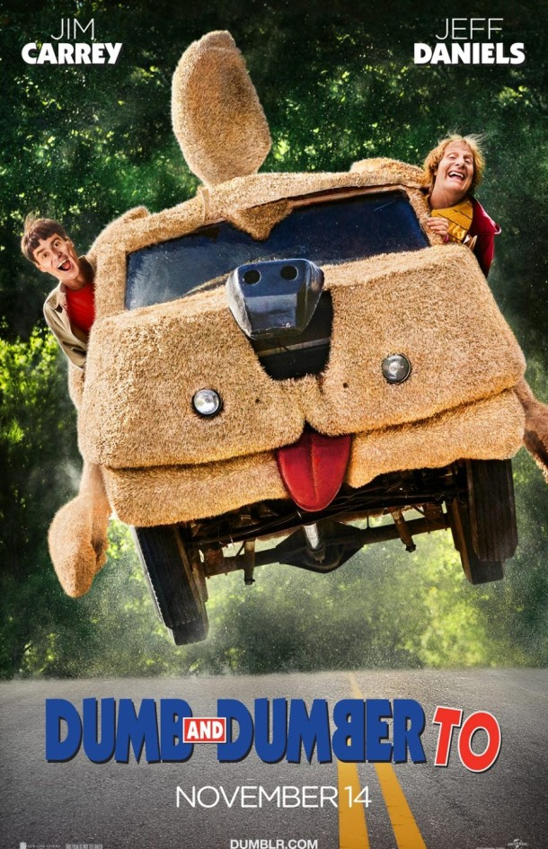 'Dumb and Dumber To' movie poster