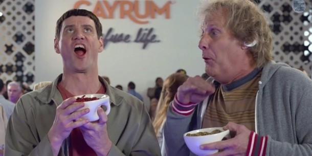 'Dumb and Dumber To' is now playing.