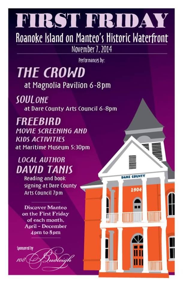First Friday - Nov. 7, 2014 in Manteo