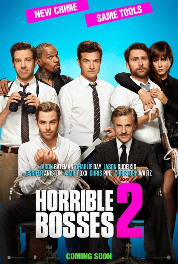 'Horrible Bosses 2' movie poster