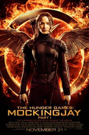 'The Hunger Games: Mockingjay Part 1' poster