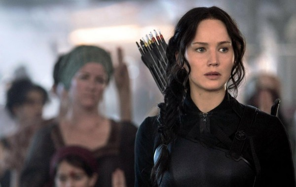 Jennifer Lawrence leads the rebellion in 'The Hunger Games: Mockingjay Part 1'.