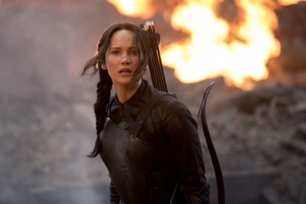 Jennifer Lawrence returns in 'The Hunger Games: Mockingjay Part 1'.