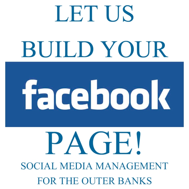 OBX Social Media Management - Let Us Build Your FACEBOOK Page! copy