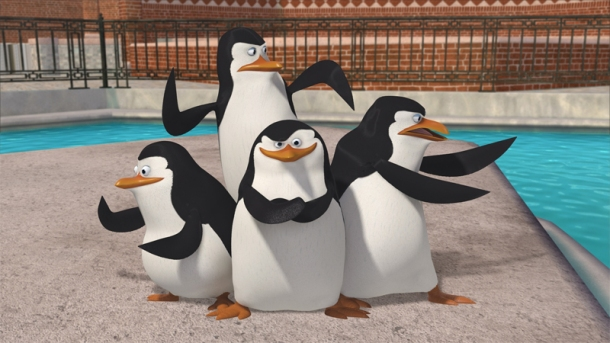 'Penguins of Madagascar' arrive in theaters this week.