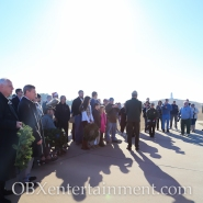 111th first flight anniversary observance at Wright Brothers National Memorial in Kill Devil Hills, NC on December 17, 2014. (photo by Matt Artz for OBXentertainment.com)