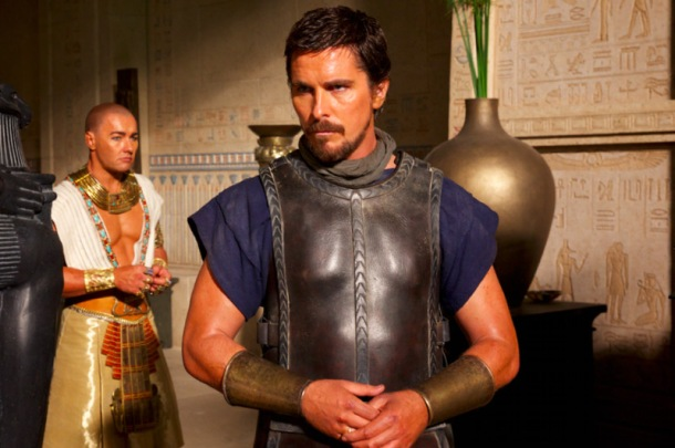 Christian Bale is Moses in 'Exodus: Gods and Kings'.