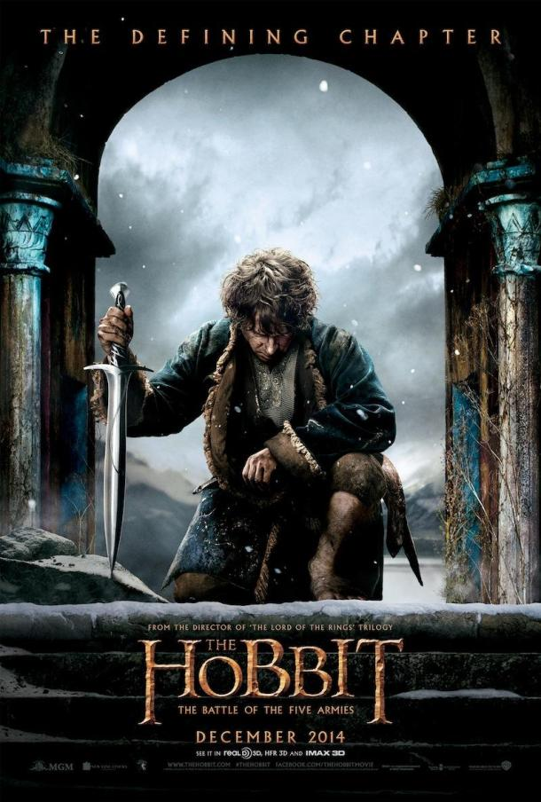 'The Hobbit: The Battle of the Five Armies' poster