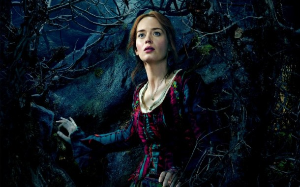 Emily  Blunt goes 'Into the Woods'.