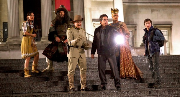 The whole gang is back for more adventure in 'Night at the Museum: Secret of the Tomb'.