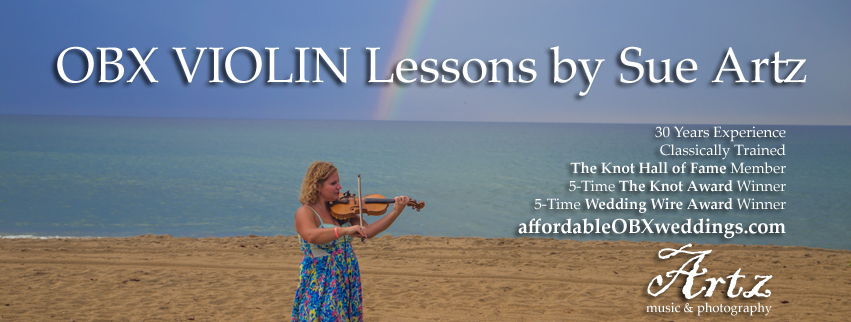 Outer Banks Violin Lessons by Sue Artz