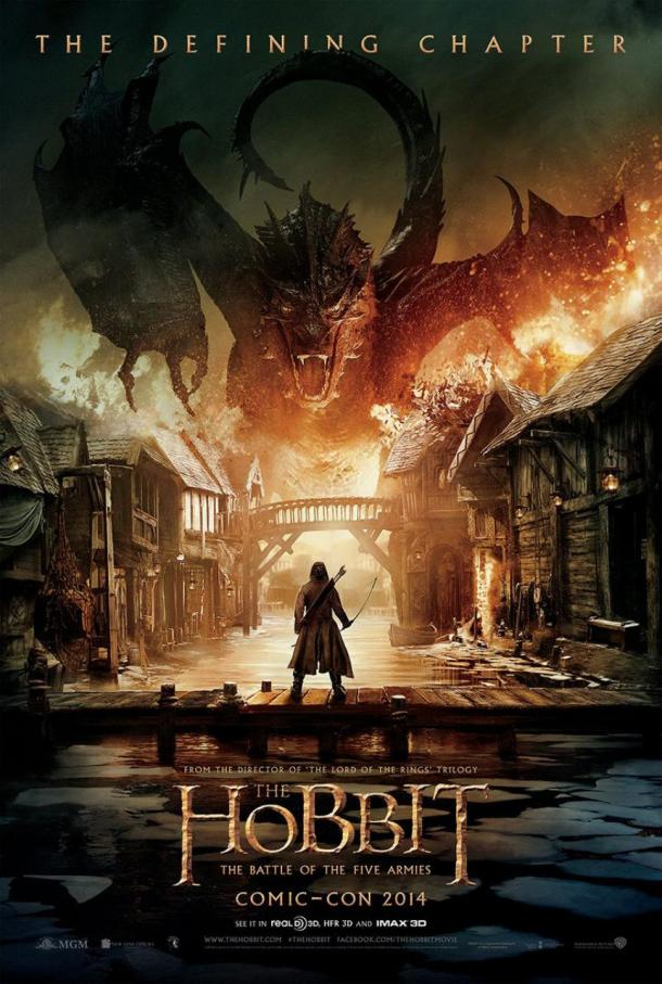 'The Hobbit: The Battle of the Five Armies' movie poster