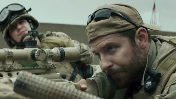 Bradley Cooper takes aim in 'American Sniper'.
