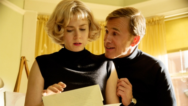'Big Eyes' stars Amy Adams and Christoph Waltz.