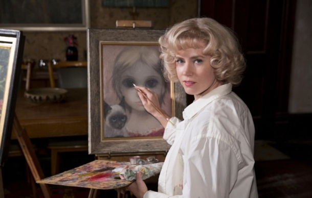Amy Adams shows off her 'Big Eyes' in theaters.