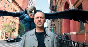 Michael Keaton is 'Birdman'.
