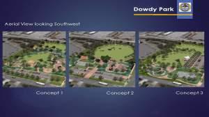 Dowdy Park, Nags Head - 3 design concepts