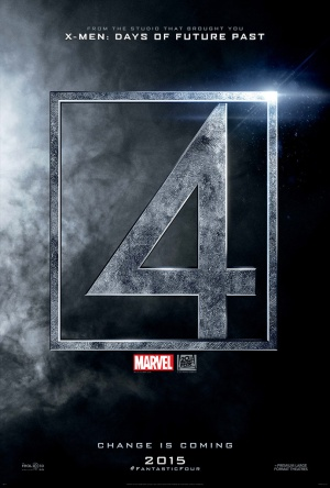 'Fantastic Four' movie teaser poster
