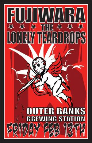 FUJIWARA, LONELY TEARDROPS PLAYING OUTER BANKS FRIDAY THE 13TH [CONCERT PREVIEW]