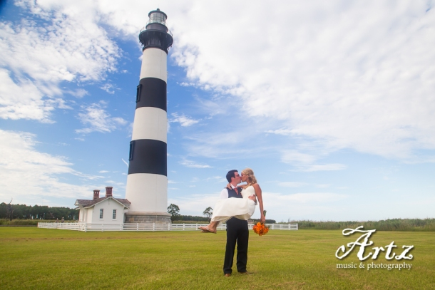 Outer Banks Weddings by ARTZ MUSIC & PHOTGRAPHY (photo by Matt Artz for affordableOBXweddings.com)