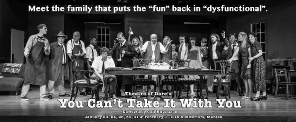 Theatre of Dare presents 'You Can't Take It With You'