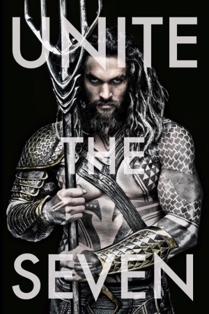 Jason Momoa is Aquaman in 'Batman v Justice: Dawn of Justice'.