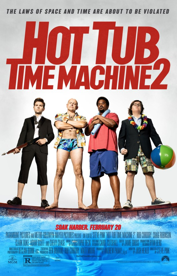 'Hot Tub Time Machine 2' movie poster