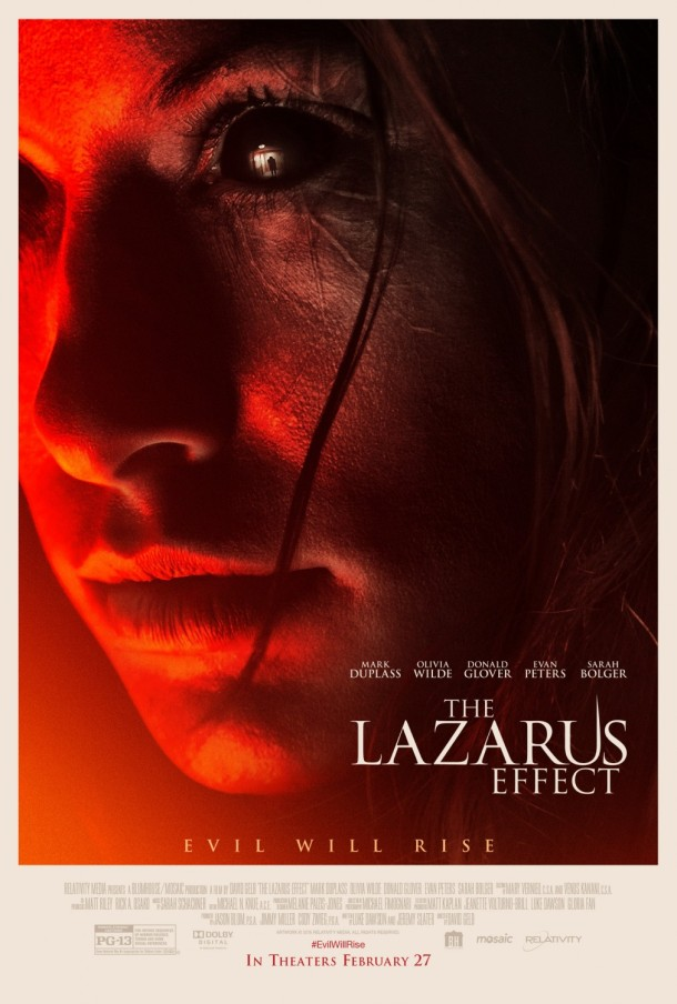 'The Lazarus Effect' movie poster