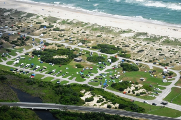 National Park Service Outer Banks Campground