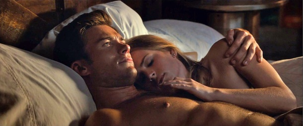 Scott Eastwood and Britt Robertson star in 'The Longest Ride'.