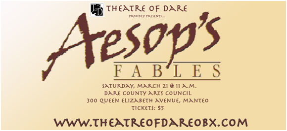 Theatre of Dare presents 'Aesop's Fables'