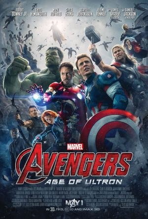 'Avengers: Age of Ultron' movie poster