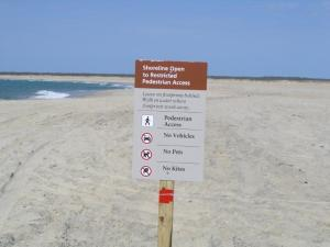 The National Park Service Outer Banks Group has announced the seasonal temporary ORV beach closures starting on April 1, 2015 on Hatteras and Ocracoke Island.