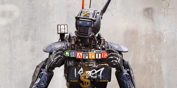 Chappie comes alive in theaters.