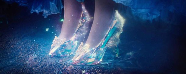 It's all about the shoes in Disney's 'Cinderella'.