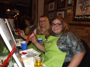 Paint Nite on the Outer Banks