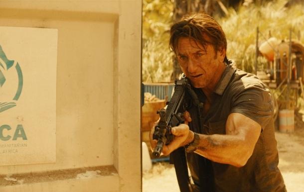Sean Penn is 'The Gunman'.