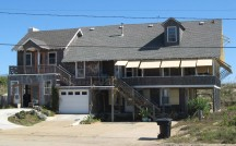 The Hall House at 2401 North Virginia Dare Trail in Kill Devil Hills was built in 1938.