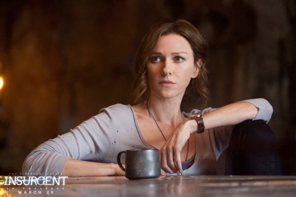 Naomi Watts stars in 'The Divergent Series: Insurgent'.