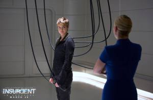 Shailene Woodley returns as Tris in 'The Divergent Series: Insurgent'.