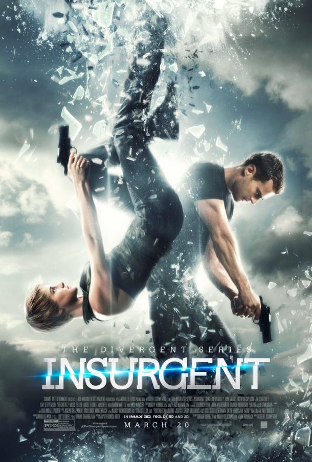 'The Divergent Series: Insurgent' movie poster