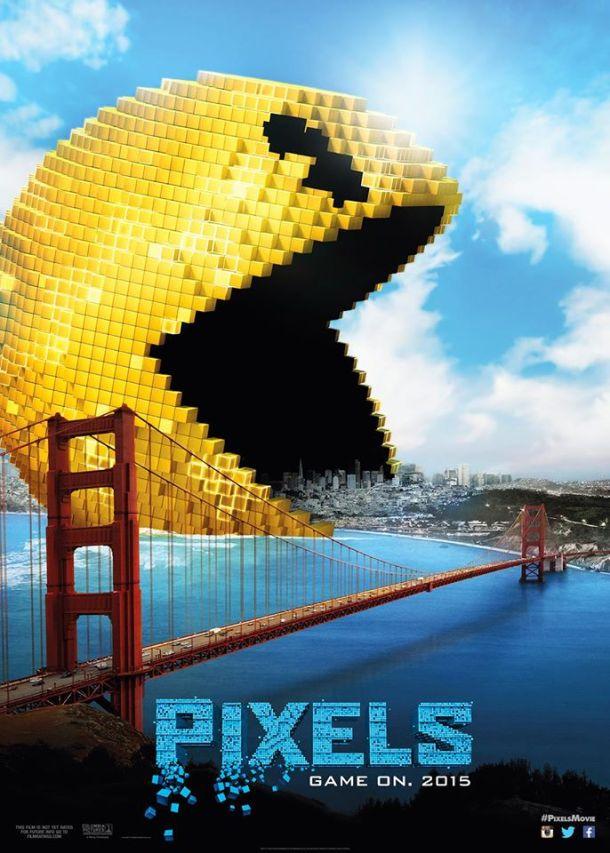 'Pixels' movie poster