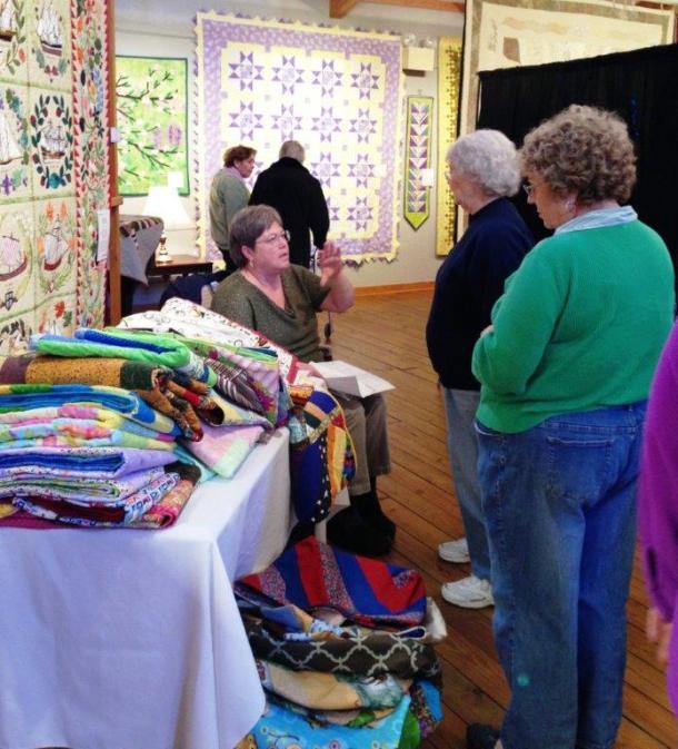 Outer Banks Community Quilt Show Vendor Day at Roanoke Island Festival Park, Manteo, NC