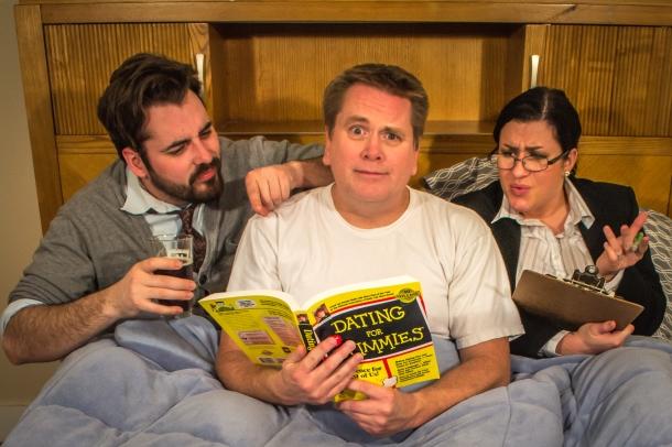 Theatre of Dare presents the comedy 'Manly Men'.
