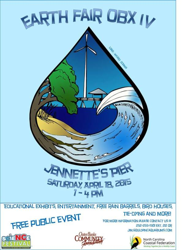 Earth Day 2015 at Jennette's Pier Nags Head