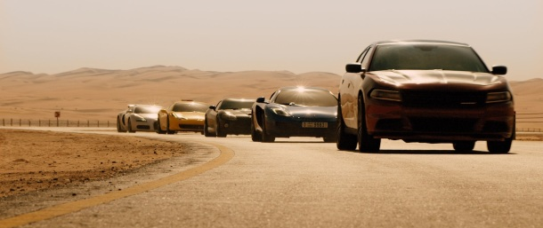 'Furious 7' speeds into theaters.